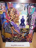 Кукла Monster High 13 Wishes Haunt the Casbah Clawdeen Wolf Doll Клодин Вульф 13 желаний, фото 1