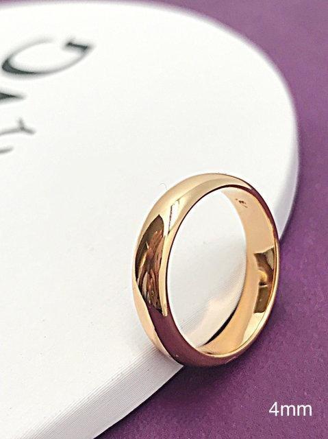 189696a93ddebd Кольцо обручальное 4 мм . Медицинское золото. - интернет-магазин  VERONIKA-SHOP в