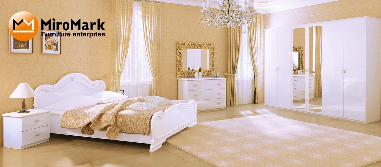 Спальня Futura глянец белый