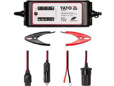 Зарядное устройство для автомобильного аккумулятора Yato YT-83016