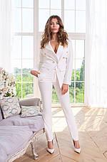 Женский классический костюм креп-костюмка №489, фото 2