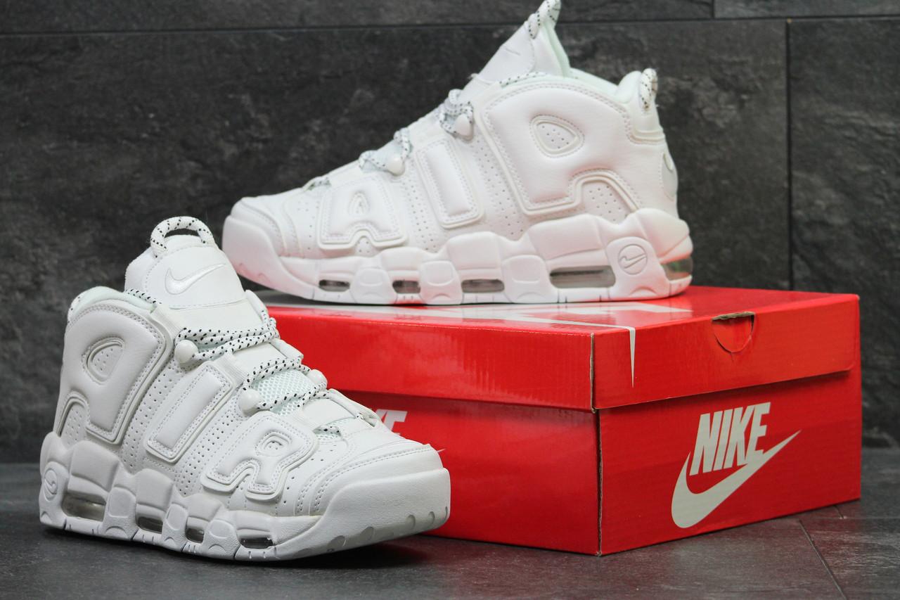 3bd05311 Белые мужские кроссовки Nike Air More Uptempo 96(Реплика): продажа ...