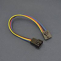 Кабель переходник питания Dell FAN 5pin to FAN 4pin (подключение корпусного вентилятора до 1А) f01