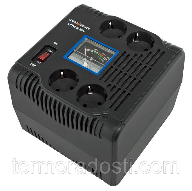 Релейный стабилизатор напряжения Logic Power LPT-1200RV (840Вт)