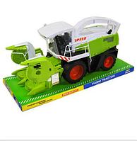 Комбайн инерционный для сбора урожая  Моторизированный зерноуборочный комбайн