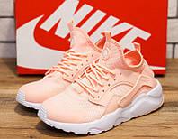 Кроссовки женские Nike Huarache 10735 найк найки розовые Реплика