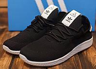 Кроссовки мужские Adidas HU 30778 адидас черные Реплика