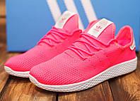 Кроссовки женские Adidas HU 30776 адидас розовые Реплика