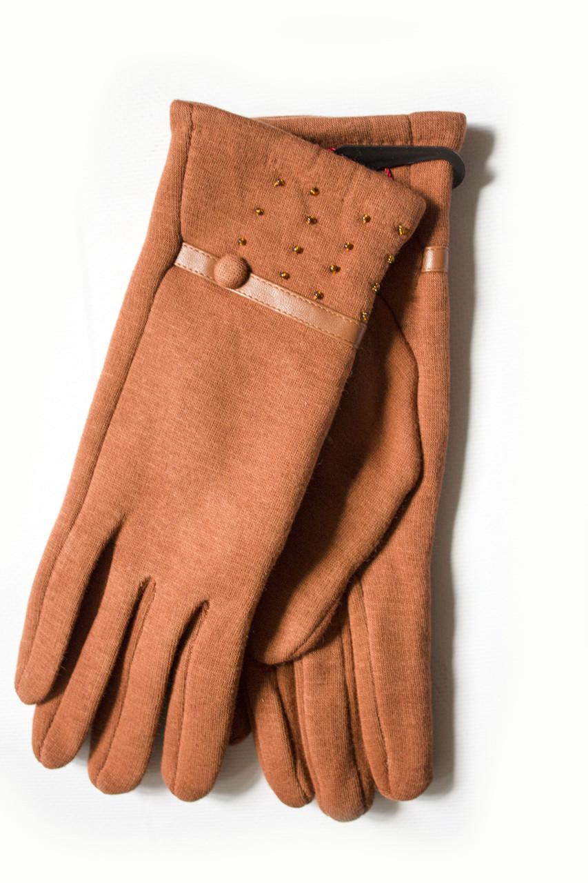 Женские стрейчевые перчатки 110S2