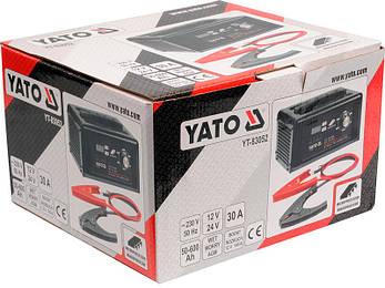 Пусковое зарядное устройство Yato YT-83052, фото 2