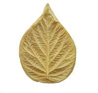 """Молд (молды) лист """"Малины"""" (Малина) 8x5.5 см для Фоамирана, глины 1 шт"""