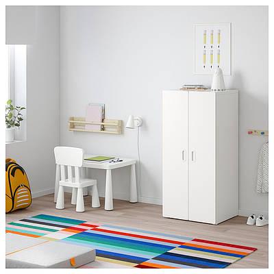 шкаф для детской Stuva Fritids 60x50x128 см белый купить недорого