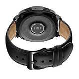 Кожаный ремешок Primo для часов Samsung Gear Sport (SM-R600) - Black, фото 2