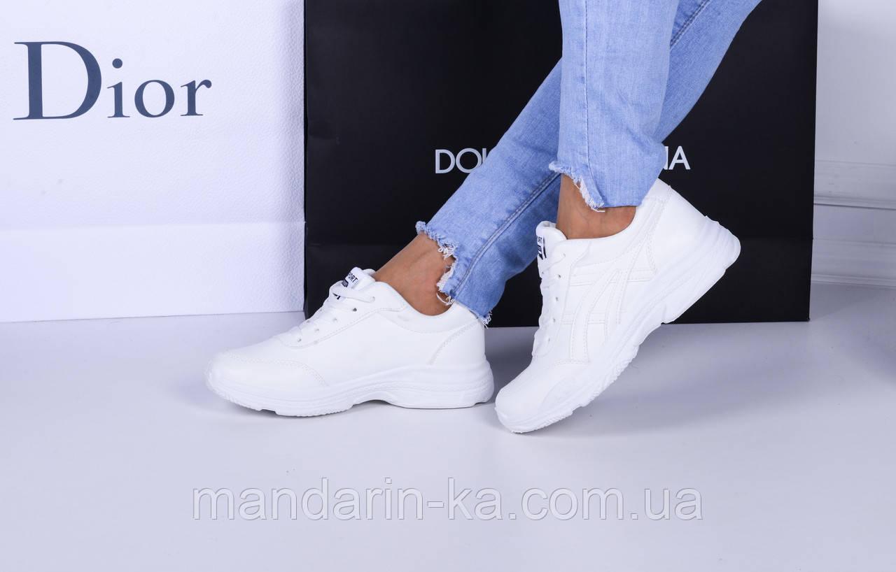 Женские  кроссовки белые So sport