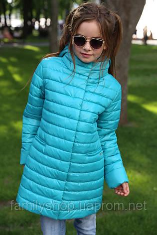 Детская удлиненная куртка на девочку Никса NUI VERY (нью вери) , фото 2