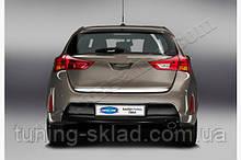 Хром кромка багажника Toyota Auris 2012-2015 (Тойота Ауріс)