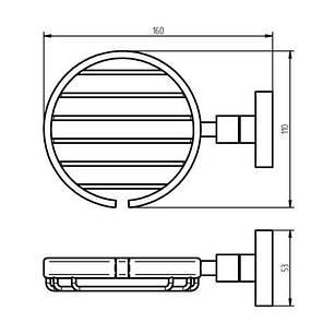 Kosmos TEC Мыльница решетка (402410), фото 2