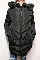 Куртка-пальто зимне-осенняя удлиненная для девочек от 8 до 16 лет (134-170см) Фирма-KE YI QI Венгрия.