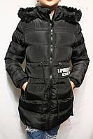 Зимние удлиненные куртки-пальто для девочек от 8 до 16 лет (134-170см) Фирма-KE YI QI Венгрия.