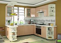 """Кухня """"Софія Престиж"""" Глянець Капучіно, фото 1"""