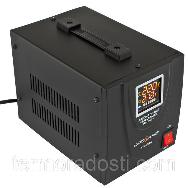 Релейный стабилизатор напряжения Logic Power LPT-2500RD BLACK (1750W)