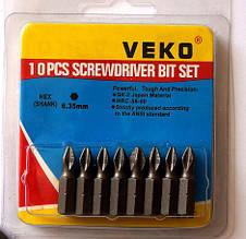 Бита VEKO PH2*25MM (10 и 20 шт. в упаковке)