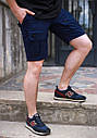 Шорты мужские карго темно-синие бренд ТУР модель Brutto от Производителя, фото 3