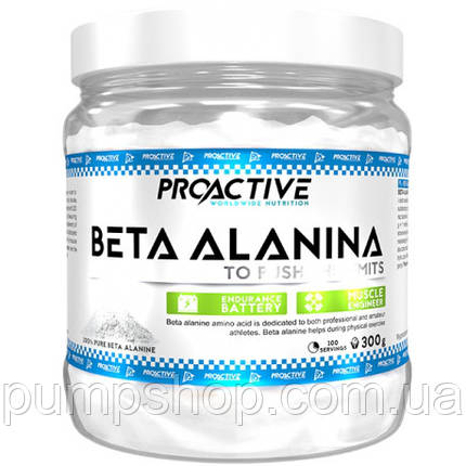 Бета-аланін ProActive Beta Alanine 300 г, фото 2