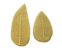 """Молд (молды) набор из 2-х шт лист (листья) """"Колокольчика"""" (Вьюнок) для Фоамирана, глины"""