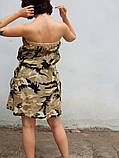 Сарафан принт камуфляж   ЛЕТО, фото 3