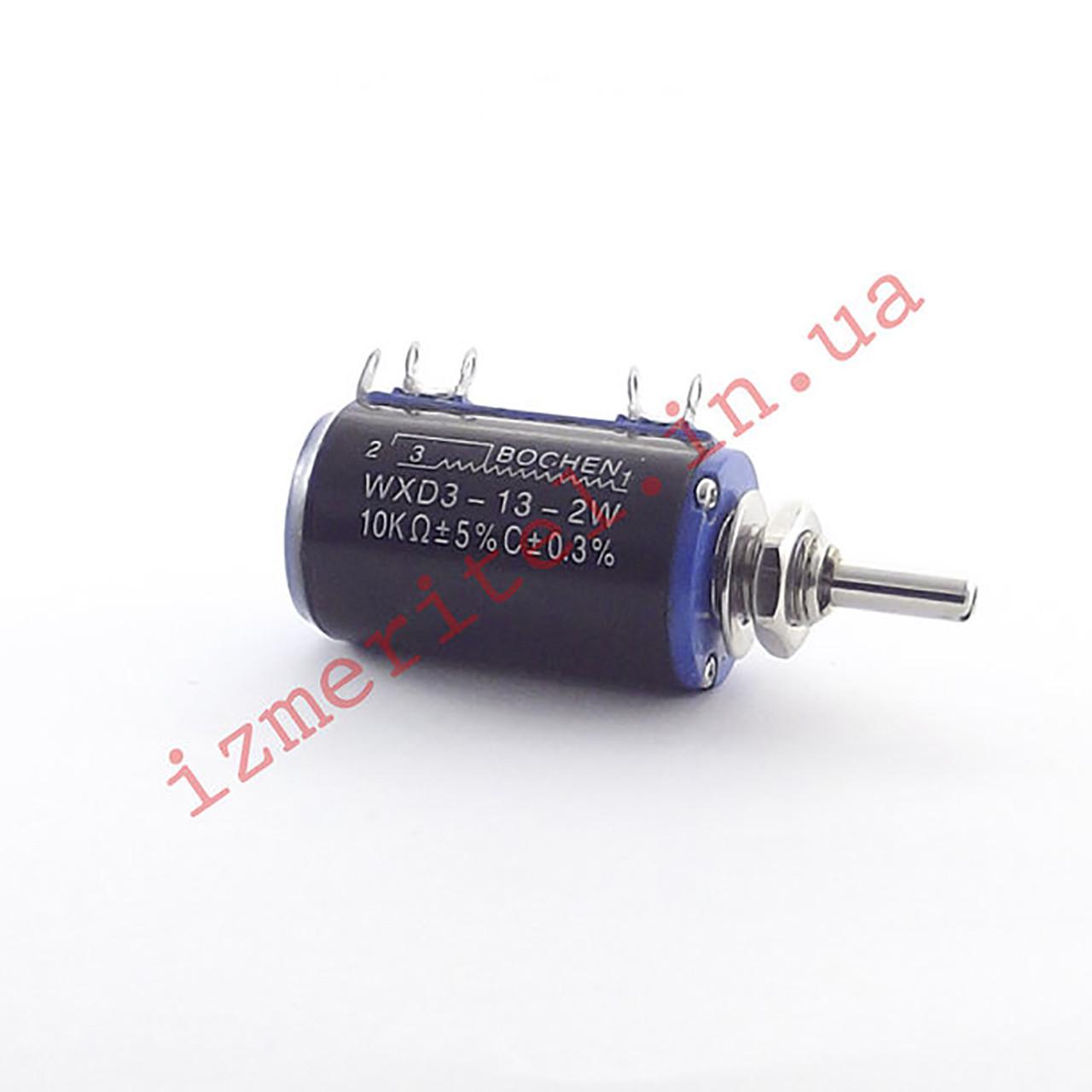Потенциометр многооборотный 10K WXD3-13-2W