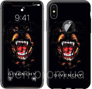 "Чехол на iPhone X Givenchy ""838c-1050-12391"""