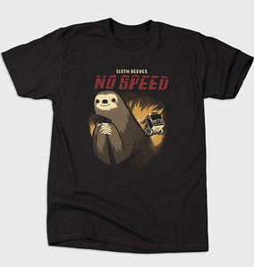 Футболка Bustedtees No Speed