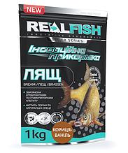 Прикормка рыболовная Real Fish Лещ Корица-Ваниль 1кг
