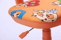 Кресло детское Свити оранжевый Зайцы оранжевые (AMF-ТМ), фото 3