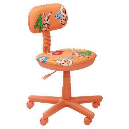 Кресло детское Свити оранжевый Зайцы оранжевые (AMF-ТМ)