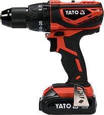 Двухскоростной аккумуляторный ударный шуруповерт Yato YT-82788, фото 2