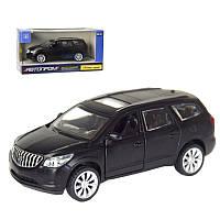 "Машина 7625 ""Автопром"" 1:43 Buick Enclave (matte black series)"