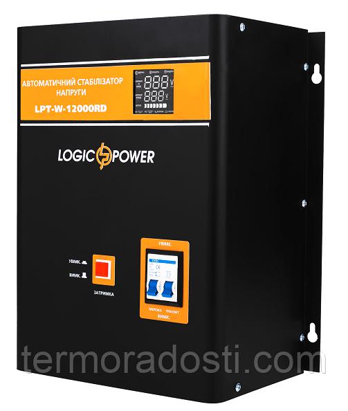 Релейный стабилизатор напряжения Logic Power LPT-W-12000RD (8400W)