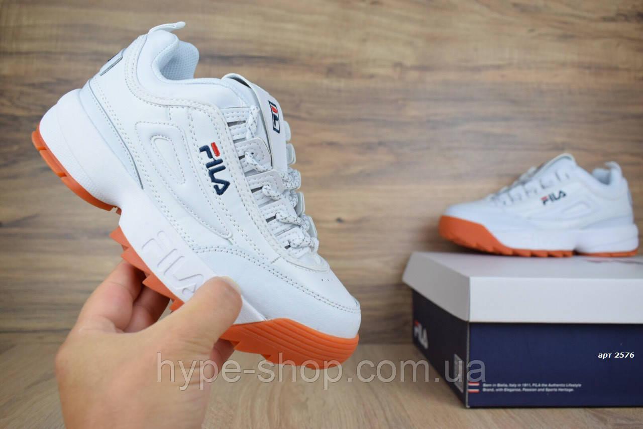 Женские кроссовки в стиле Fila Disruptor II | Все размеры