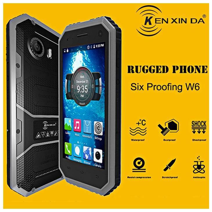 Противоударный защищённый  W6. Противоударный защищённый смартфон