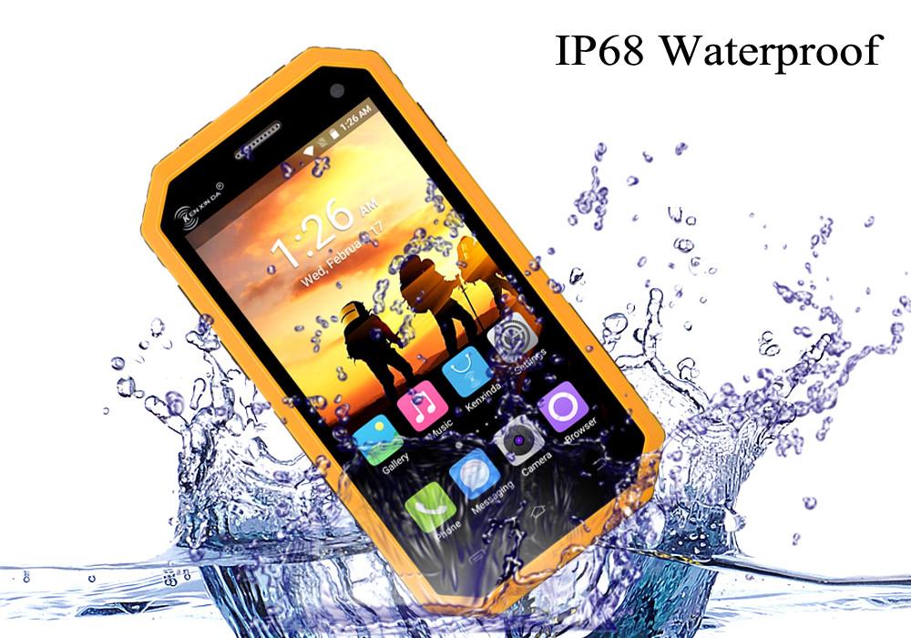 Противоударный защищённый телефон W6. Противоударный защищённый смартфон, фото 1