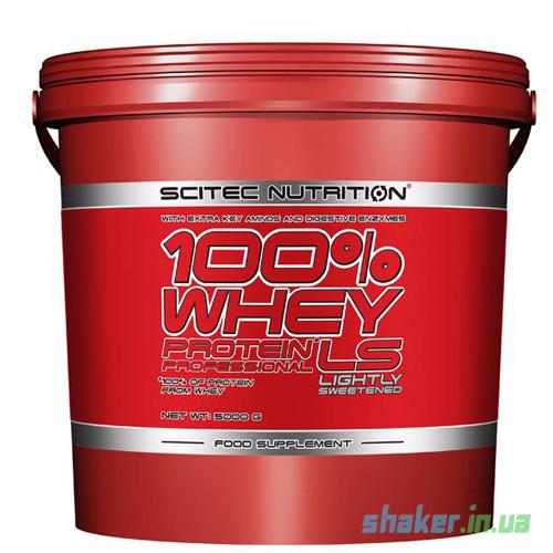 Сывороточный протеин концентрат Scitec Nutrition 100% Whey Protein Professional (5 кг) скайтек вей banana