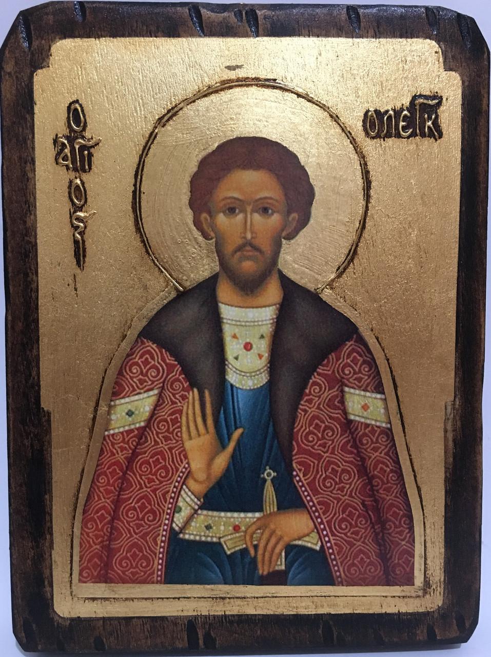 Икона Святой Олег