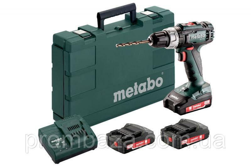 Аккумуляторный шуруповерт Metabo BS 18 L 3x2.0 Ач