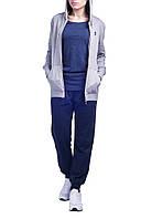 Костюм женский Lotto Meryl V Suit HD FL W (S8800) Grey Dark Melange/Navy