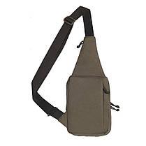 M-Tac сумка-кобура наплечная Elite с липучкой Olive, фото 3