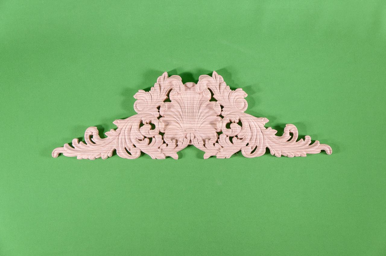 Код ДГ 30.Деревянный резной декор для мебели. Декор горизонтальный