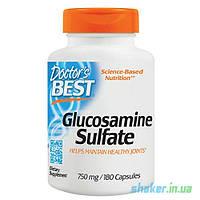 Глюкозамин сульфат Doctor's BEST Glucosamine Sulfate (180 капс) доктор бест