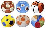 Бескаркасная мебель Кресло мяч баскетбол с вышивкой, фото 8